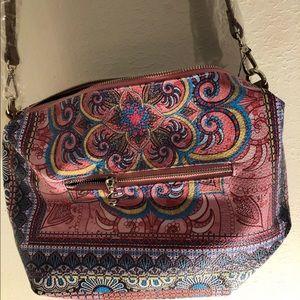Desigual bag new henna print crossbody